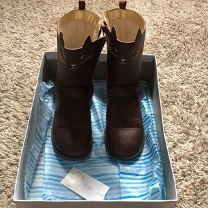Carter's toddler girl kitty cat boots size 11